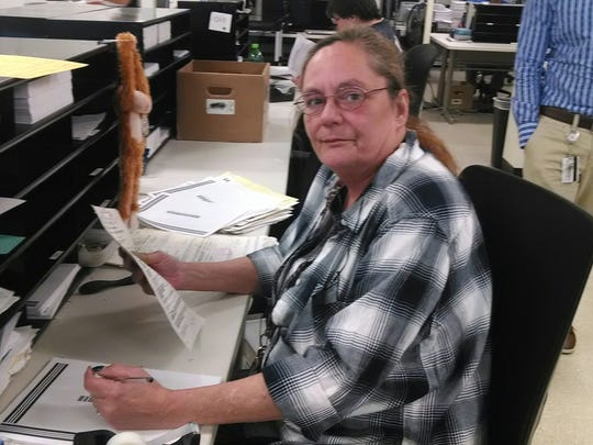 Bette Legory a document prep clerk at Xerox.
