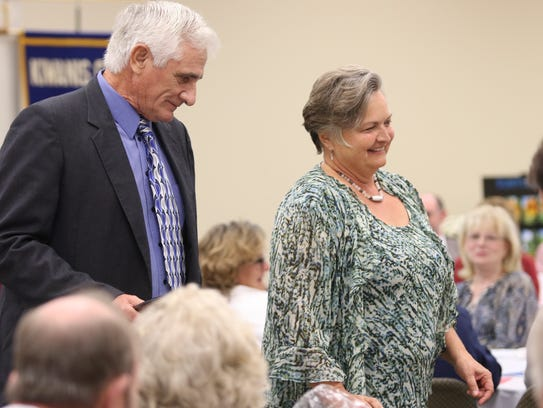 The Billy and Teresa McCraw family was named the Outstanding