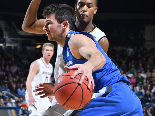 Mastodons guard John Konchar averaged nearly 15 points