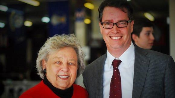 Carolyn Justice and Craig Collins