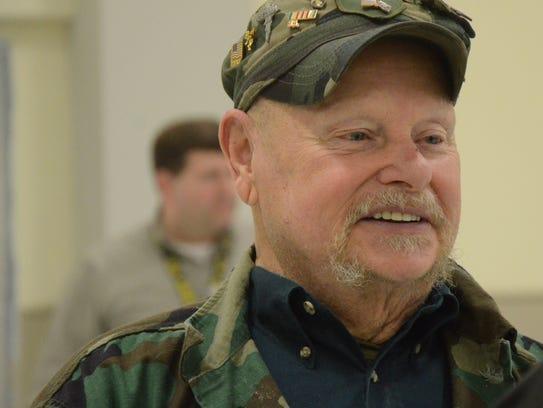 Larry Yost, a veteran of the Vietnam War.