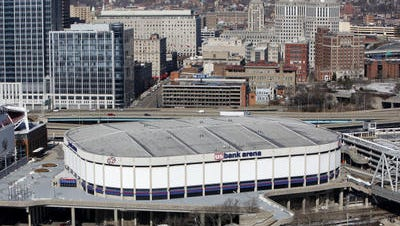 U.S. Bank Arena.