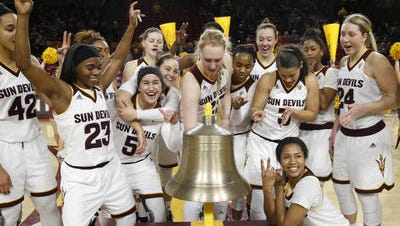 No. 10 ASU women's basketball is on an 11-game winning streak going into Sunday's game against Utah. The school record for consecutive wins is 15.