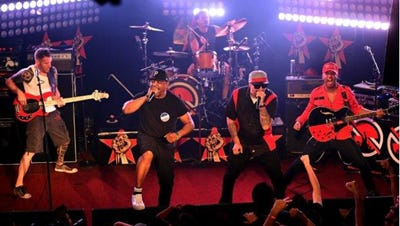 The newly-formed supergroup Prophets of Rage, consisting of certain members from Rage Against the Machine, Public Enemy and Cypress Hill, will bring its Make America Rage Again Tour to Riverbend Music Center Wednesday, Oct. 5.