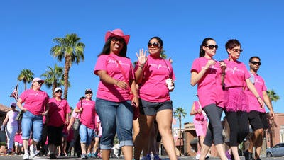The 10th annual Paint El Paseo Pink 2-mile walk to raise money for Desert Cancer Foundation is set for Oct. 8 on El Paseo in Palm Desert.