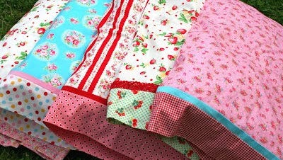 """Learn to make a three-color standard-size pillowcase while being trained on the either the sewing machine or the serger at classes in the Fond du Lac Public Library's Idea Studio Oct.18 and 19. For more information, visit fdlpl.org, click """"Calendar."""""""