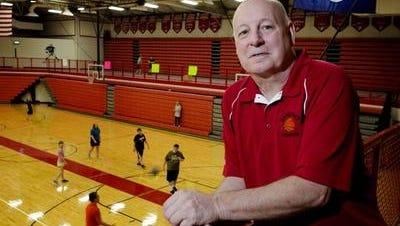 Sandusky High School girls basketball coach Al DeMott.