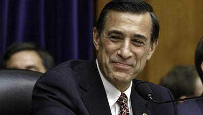Rep. Darrell Issa, during rare light-hearted moment at Monday's tense testimony of IRS commissioner Koskinen