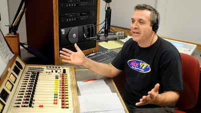 Mark Bolger of WCZX (997.7 FM), which is known as Mix 97.7.