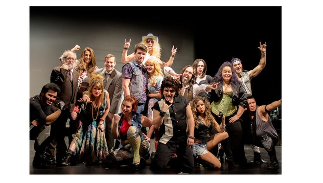 "The Off Broad Street Players will present the Broadway sensation ""Rock of Ages"" at 7:30 p.m. Feb. 12 and 13, 3 p.m. Feb. 14, 7 p.m. Feb. 18, 7:30 p.m. Feb. 19 and 20 and 3 p.m. Feb. 21 at the Levoy Theatre, 126-130 N. High St., Millville."