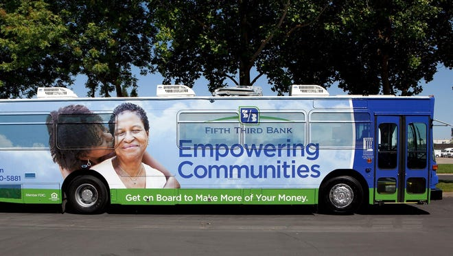 Fifth Third Bank is loading up its eBus with advice for homeowners and others during August.