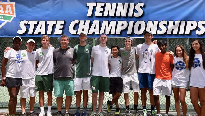 The Fort Myers boys tennis team and Canterbury's Emily Javedan and Anna Sofia Diaz finished up their respective runs at the FHSAA state tennis tournaments.