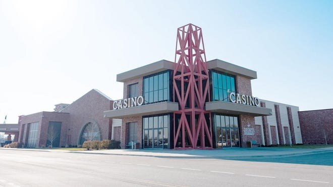The Kansas Crossing Casino has reopened with measures in place to prevent COVID-19 spread. -- FILE PHOTO