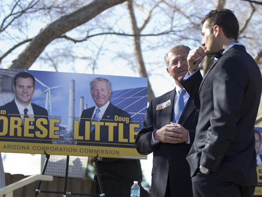 Tom Forese and Doug Little campaign for Arizona Corporation