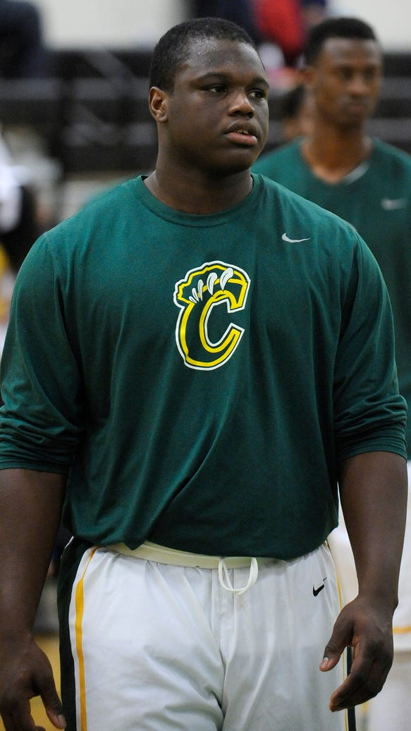 Carver's Marlon Davidson sports a new hairstyle against