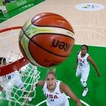 U.S. women's basketball team threatening to rewrite record books in Rio