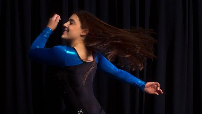 All-Shore Gymnast of the Year Julianna Drapkin, Holmdel.