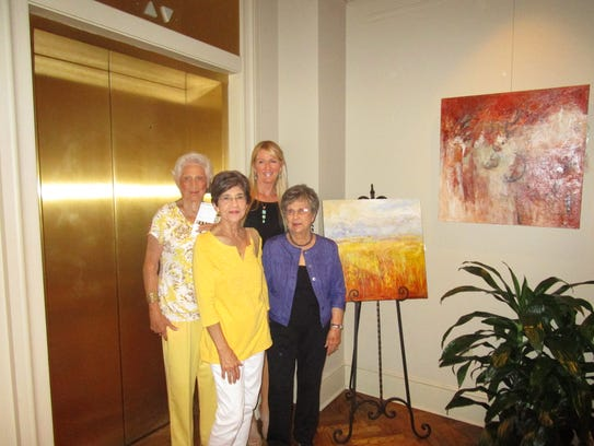 Lyndel Renoudet, Louise Guidry, Anne DeMahy and Dana
