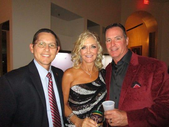 Dave Comeaux and Shari and Jeff Raggio