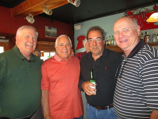 John Connery, Ted Haik, Darryl Elias and Edward Pratt