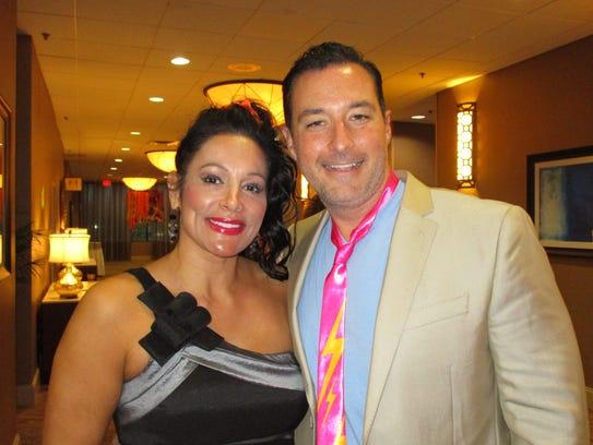 Anna Uriegas and Eric Richard