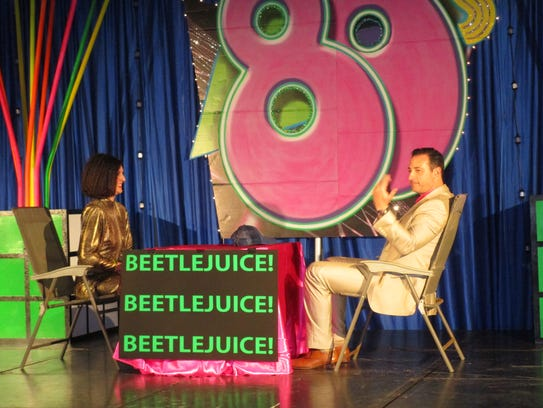 Lauren Gardner and Eric Richard dance to Beetlejuice