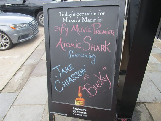 The movie Atomic Shark premiered on the SyFy channel