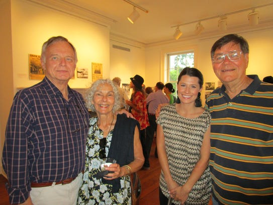 Ed Dubuisson, Susan Chiaquelin, Ava Trimble and Burnell
