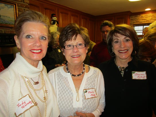 Judy Kennedy, Phern Stagg and Sharon Fontenot