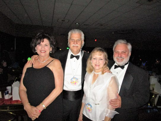 Carla and Gerald Gerami, Suzanne and Paul Eason