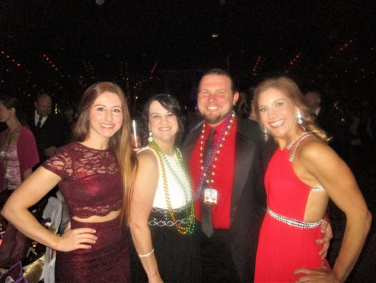 Paige Stinson, Gina Boudreaux, Raul Manuel and Molly