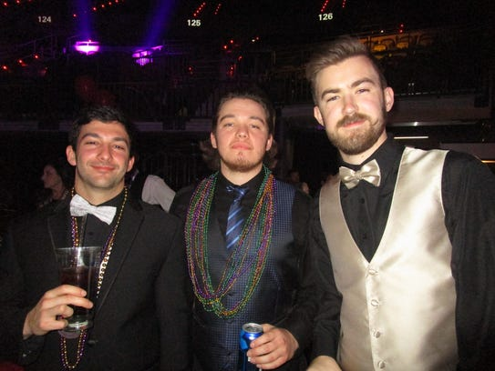 John Myers, Dimitri Nassour and Ryan Thibodeaux