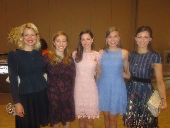 Erin Fenstermaker, Sarah Chance, Emily Kemp, Marrissa