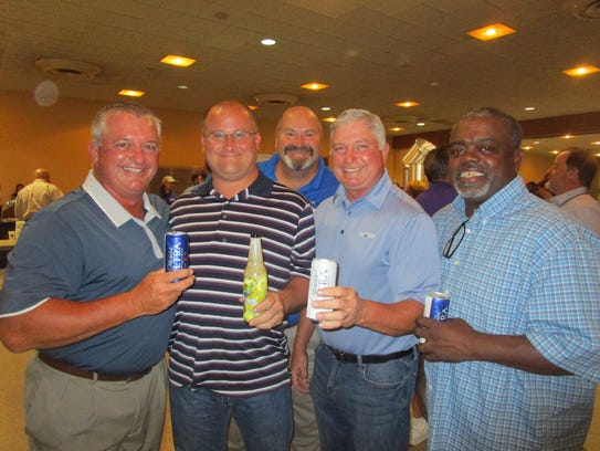 Thad Weber, Jimmy Castille, Ted Weber, Thomas Brown