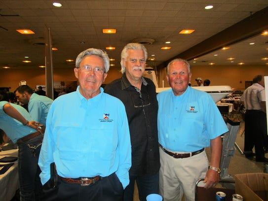 Dwayne David, Gerald Gerami and Kyle Gideon