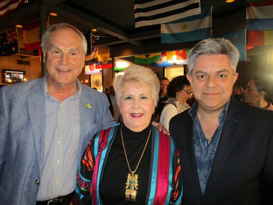 Philippe Gustin, Estella Brewer and Carlos Ponce