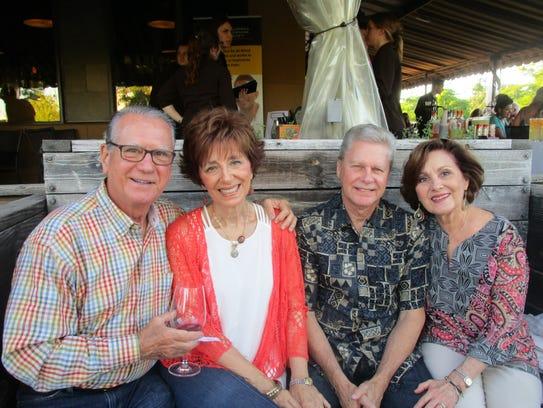 John T. and Sandra Landry, Jerry and Paula Dronet