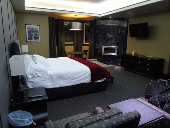 The New York room at the Winifred International Suites