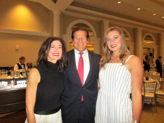 Traci, Phil and Madelyn Aucoin