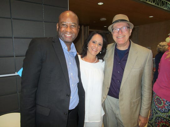 Philip Sampson, Amy Romero and Dennis Ward