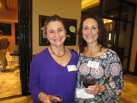 Patricia Cran and Rachelle Meaux