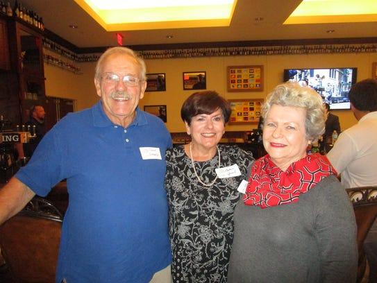 Tom and Barbara Girard and Sally Herpin