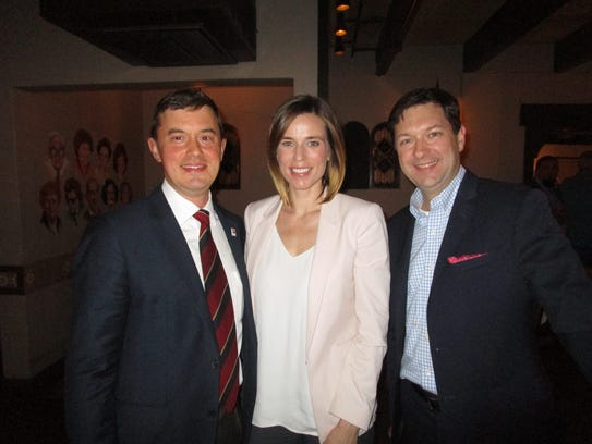 John Henry Jackson, Jessica Stevenson and Mark Mouton