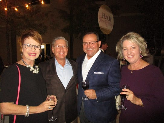Toni and Rob Eddy, Steve and Kim Clark