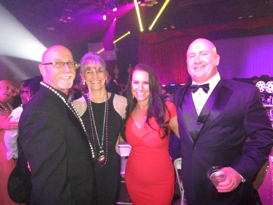 Dennis Talbot, VIcky Guidry, Danielle Talbot and David