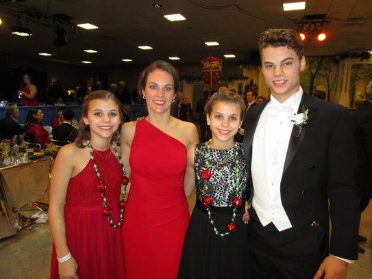 Chloe, Ashley, Catherine and Cameron Gray