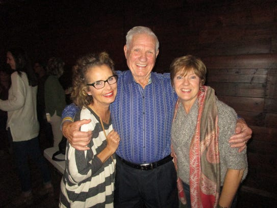 Nanette Fisher, David Fisher and Sharon Fisher O'Neill