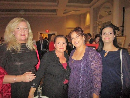 Rebecca Taylor, Andree Peltier, Kelley Thomas and Anita