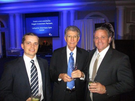 Cory Lavergne, Chuck Vincent and Scott Hollier