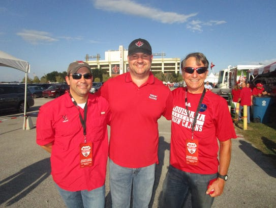 Kevin Broussard, Paul Brunet and Scott Coco